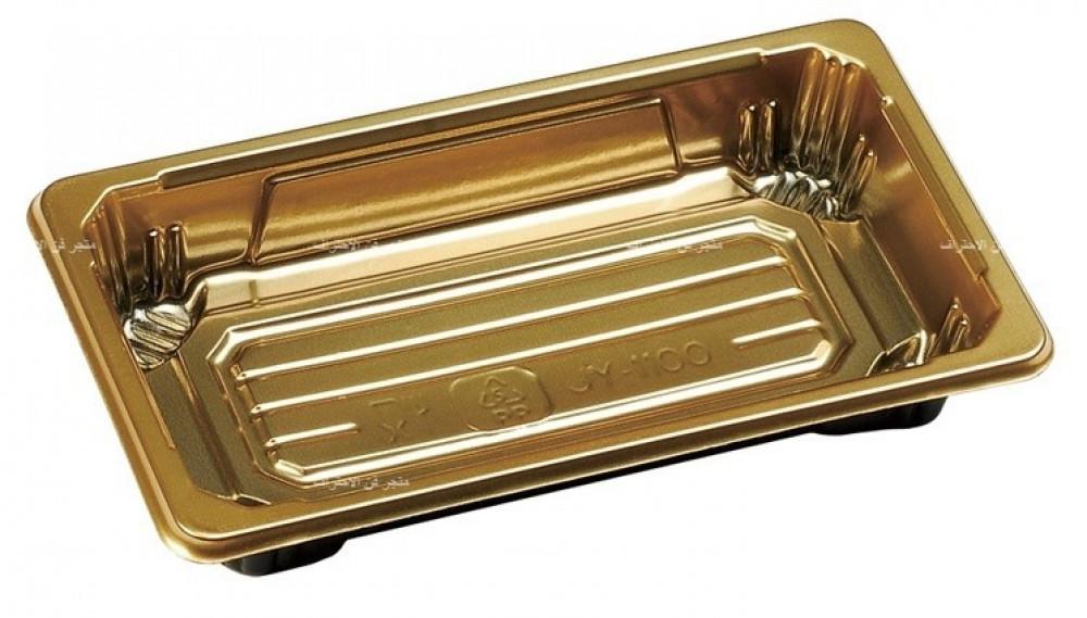 صحن سوشي ذهبي مقاس 8 50 حبة