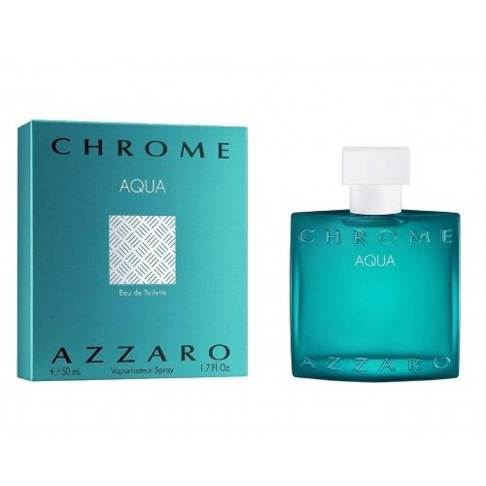 Azzaro Chrome Aqua Eau de Toilette 50ml خبير العطور