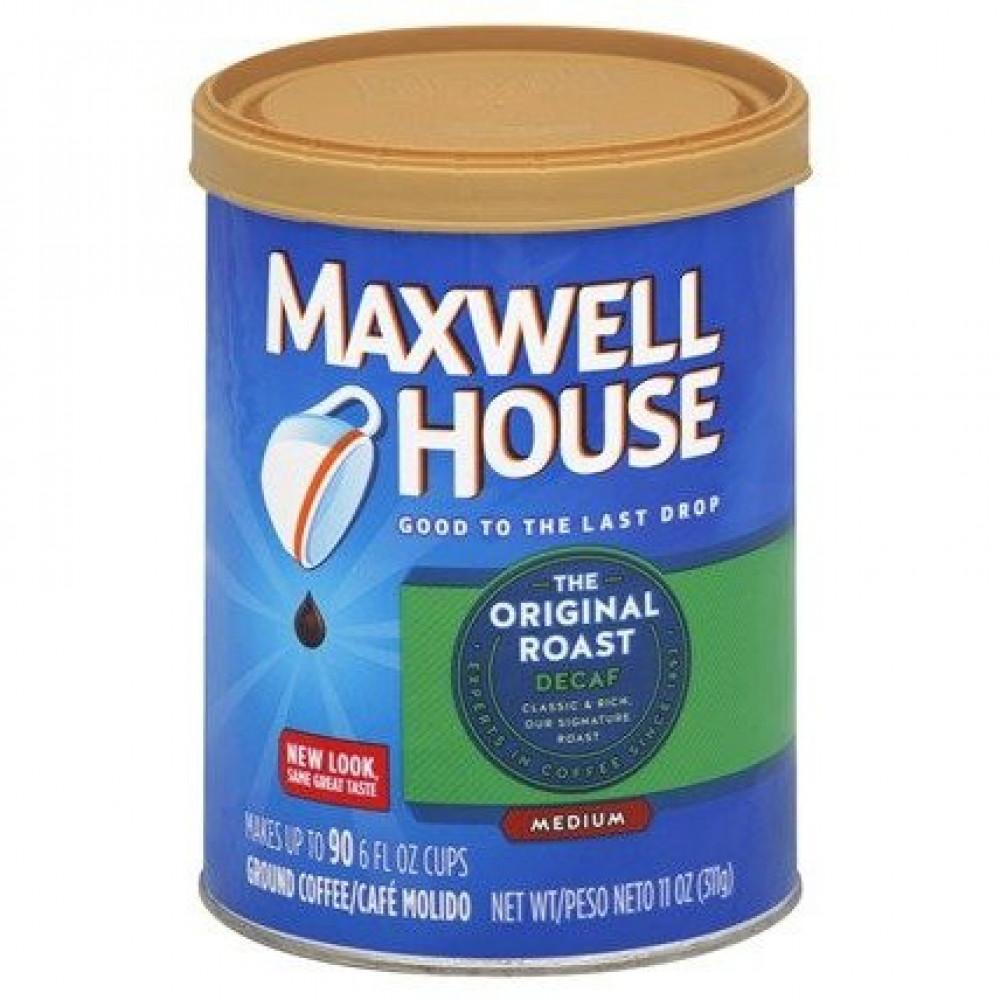 ماكسويل هاوس خالية من الكافيين ديكاف متوسطة التحميص