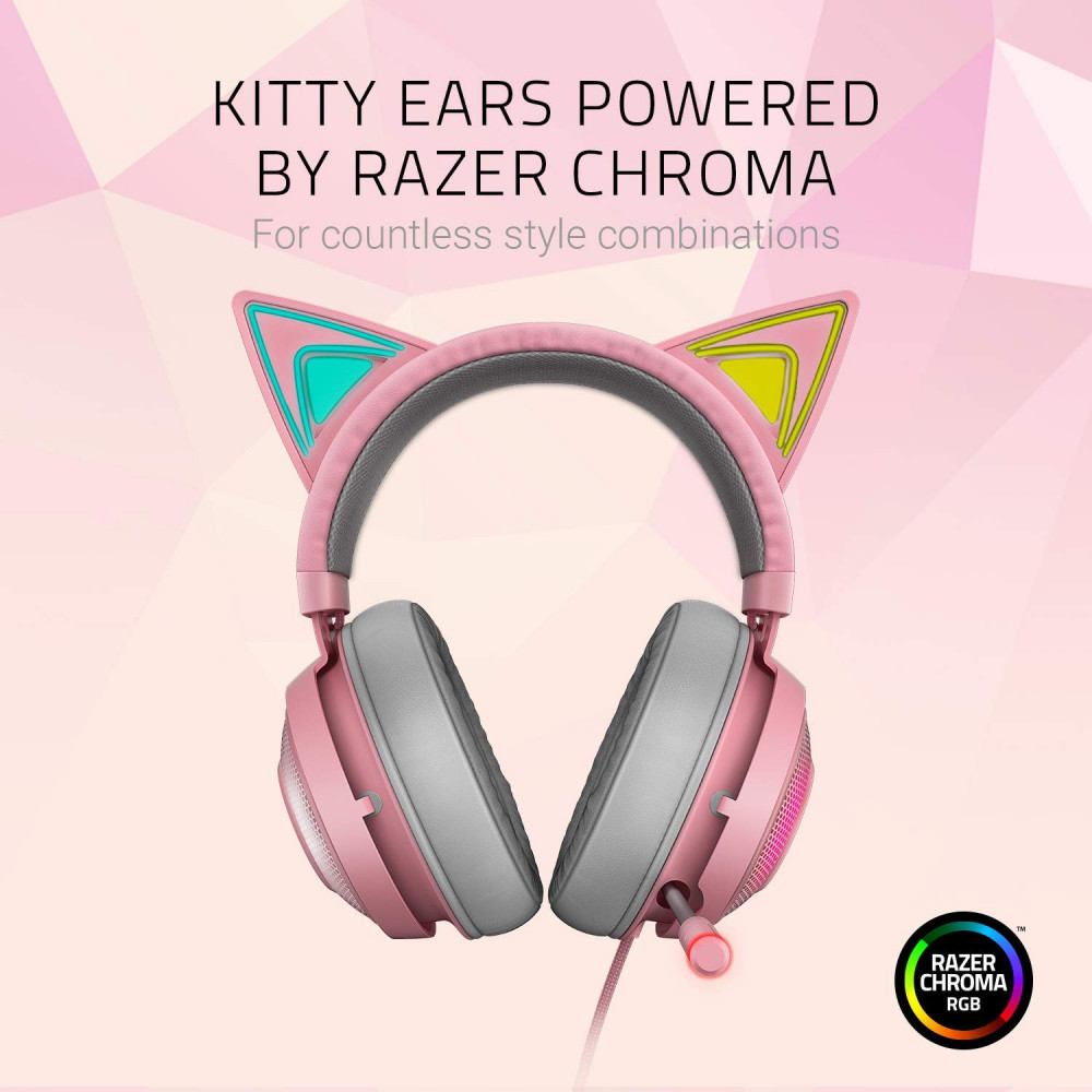 Razer Kraken Kitty RGB USB Gaming Headset THX