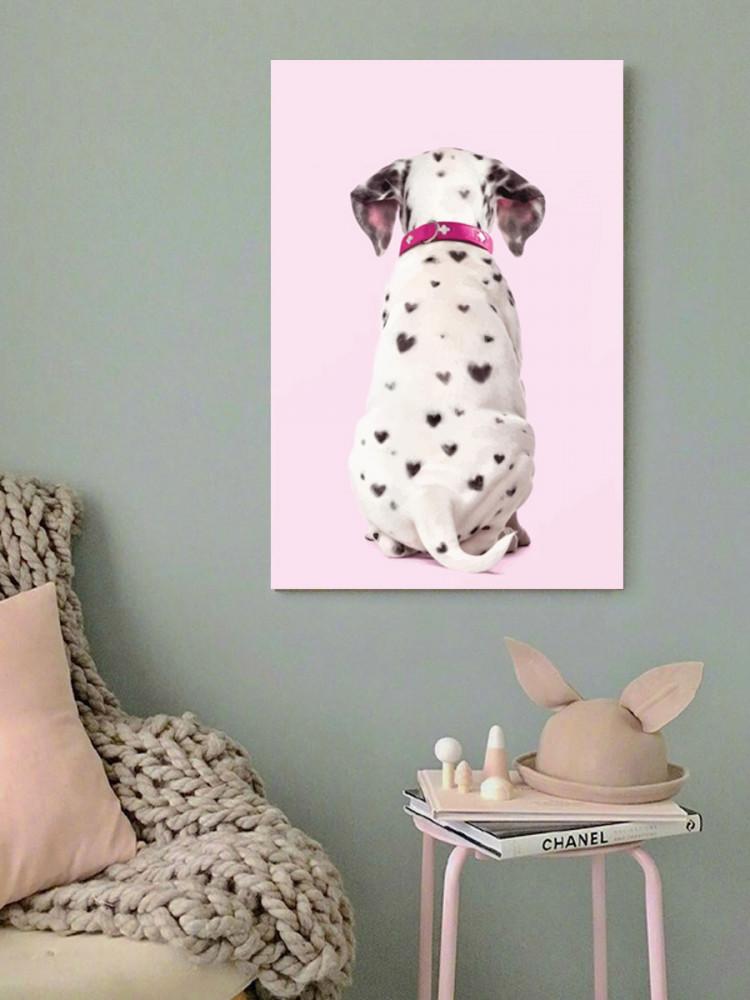 لوحة الكلب خشب ام دي اف مقاس 40x60 سنتيمتر