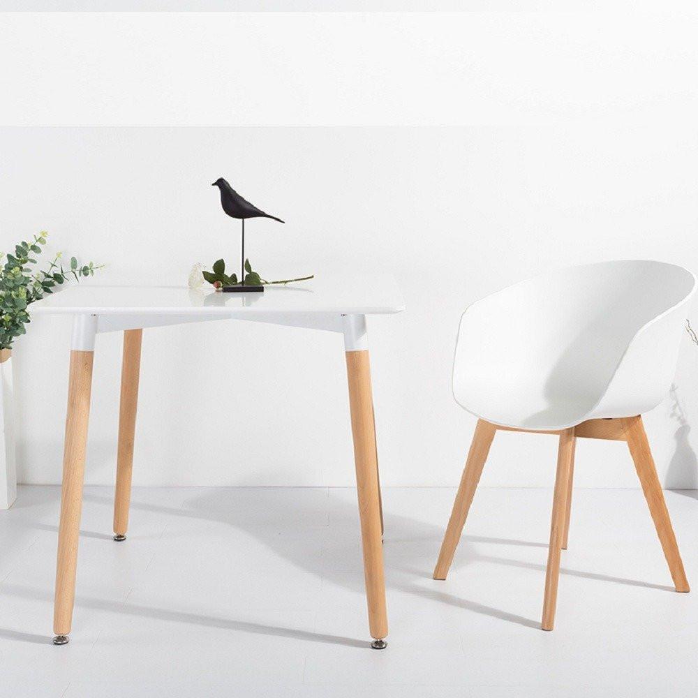 طاولة نيت هوم متعددة الاستخدام مواسم مصممة باللون الأبيض النقي والأنيق