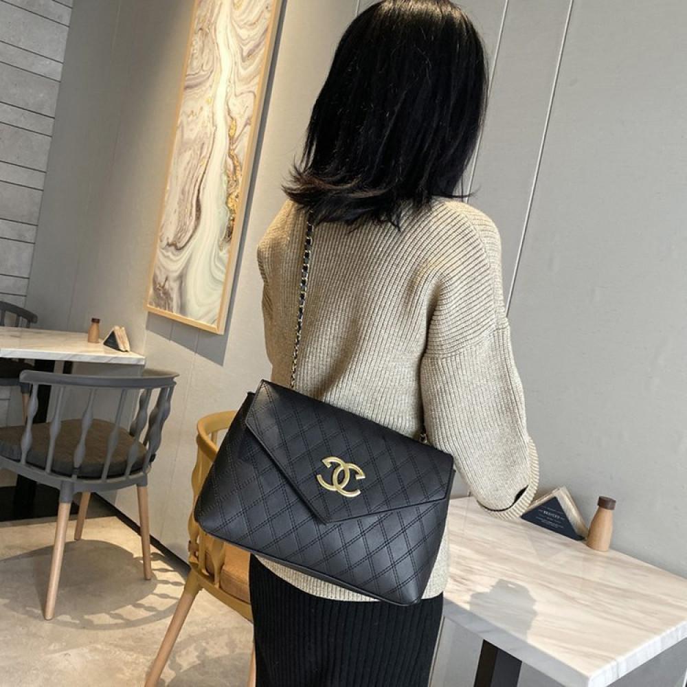حقبية Shangxin Lingge جلدية مطرزة حجم صغير حقيبة نسائية شتوية وخريفية