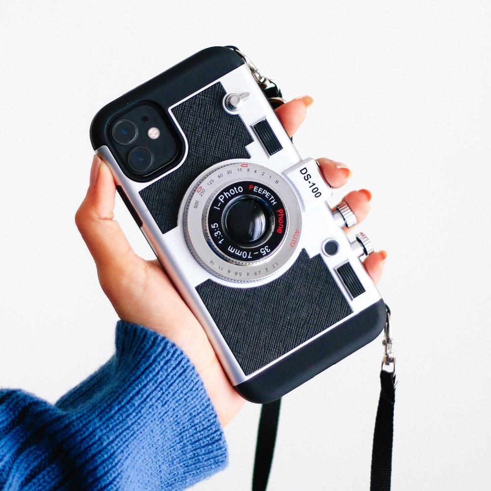 كفر ايفون ايميلي ان باريس كفر على شكل كاميرا اكسسوارات ايفون كفر آيفون
