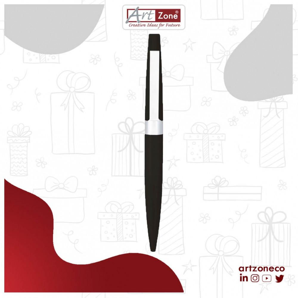 قلم فضي مع حفر بالليزر