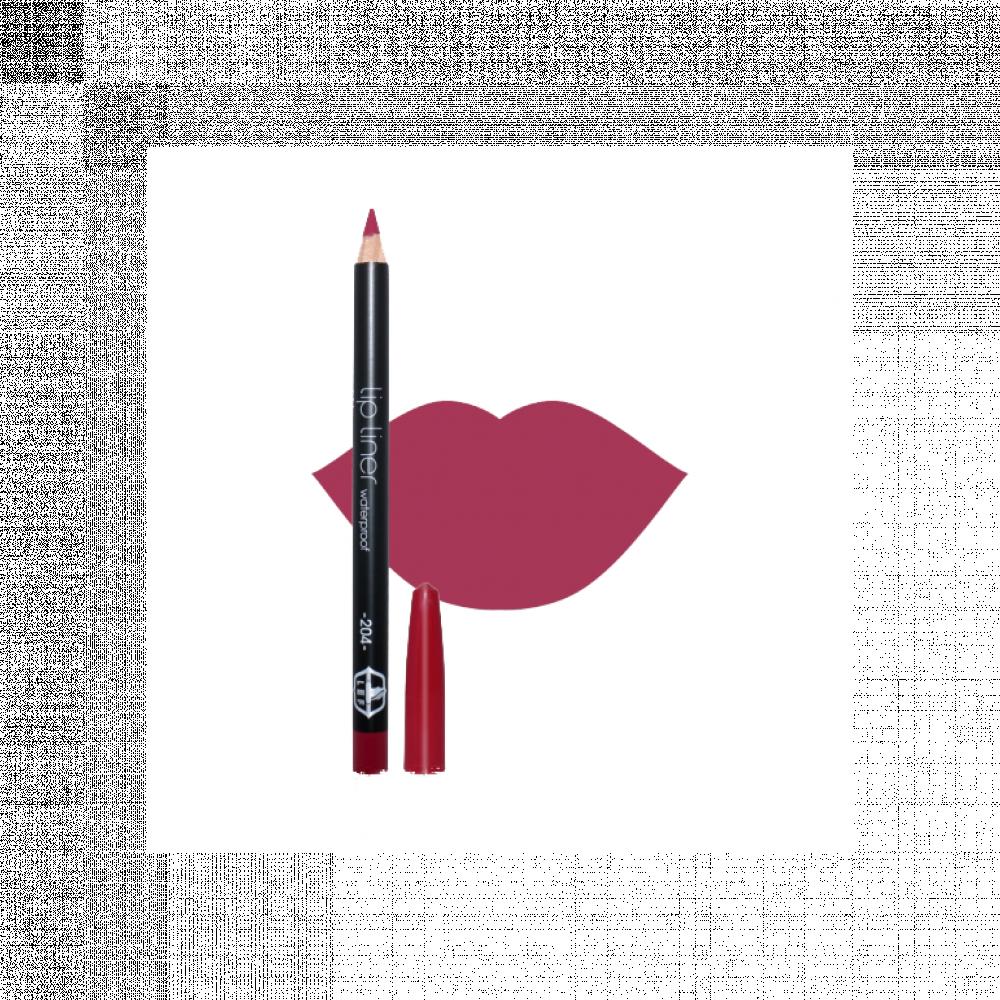 قلم تحديد الشفاه من ليف - الدرجه 204