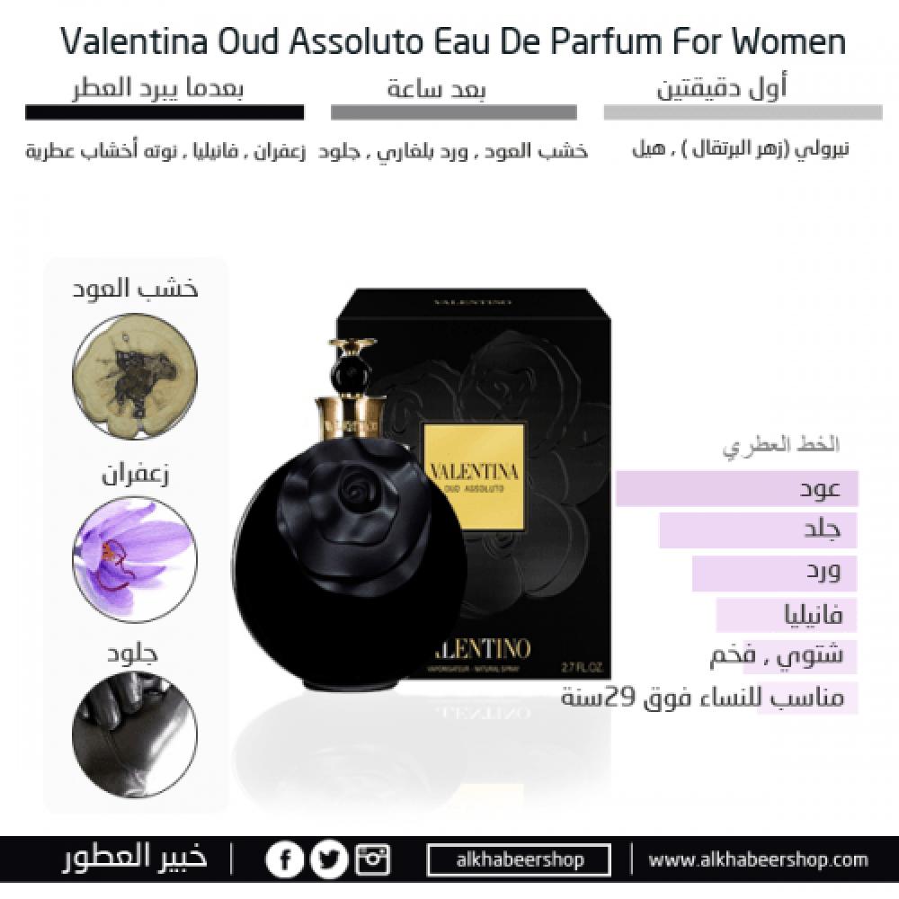 Valentino Oud Assoluto Eau de Parfum 80ml متجر خبير العطور