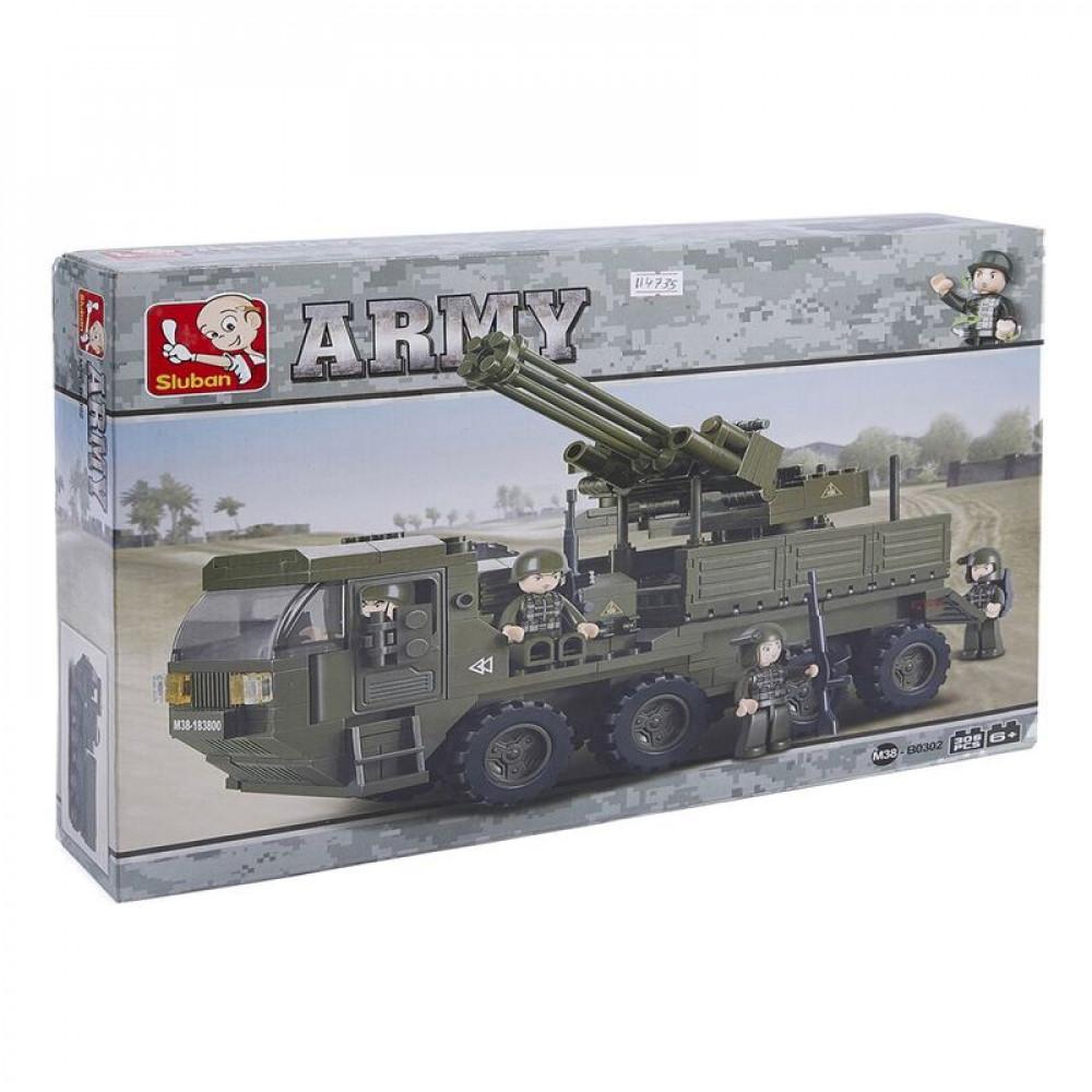 سلوبان, قطع تركيب, شاحبنة اطلاق صواريخ, Toys, Sluban, ألعاب