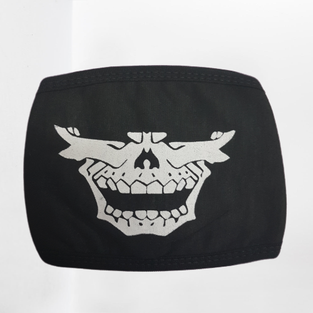 قناع كمامة قماشية الجمجمة كوري
