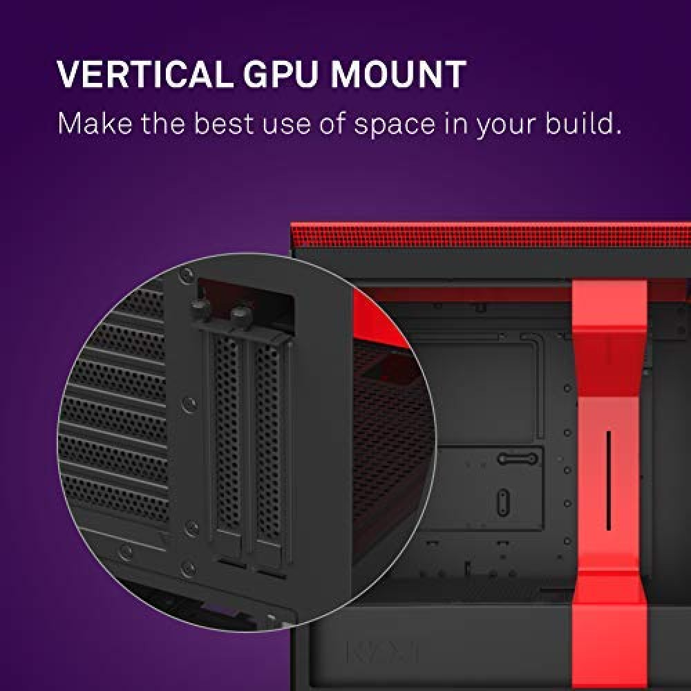 NZXT H710i Black Red