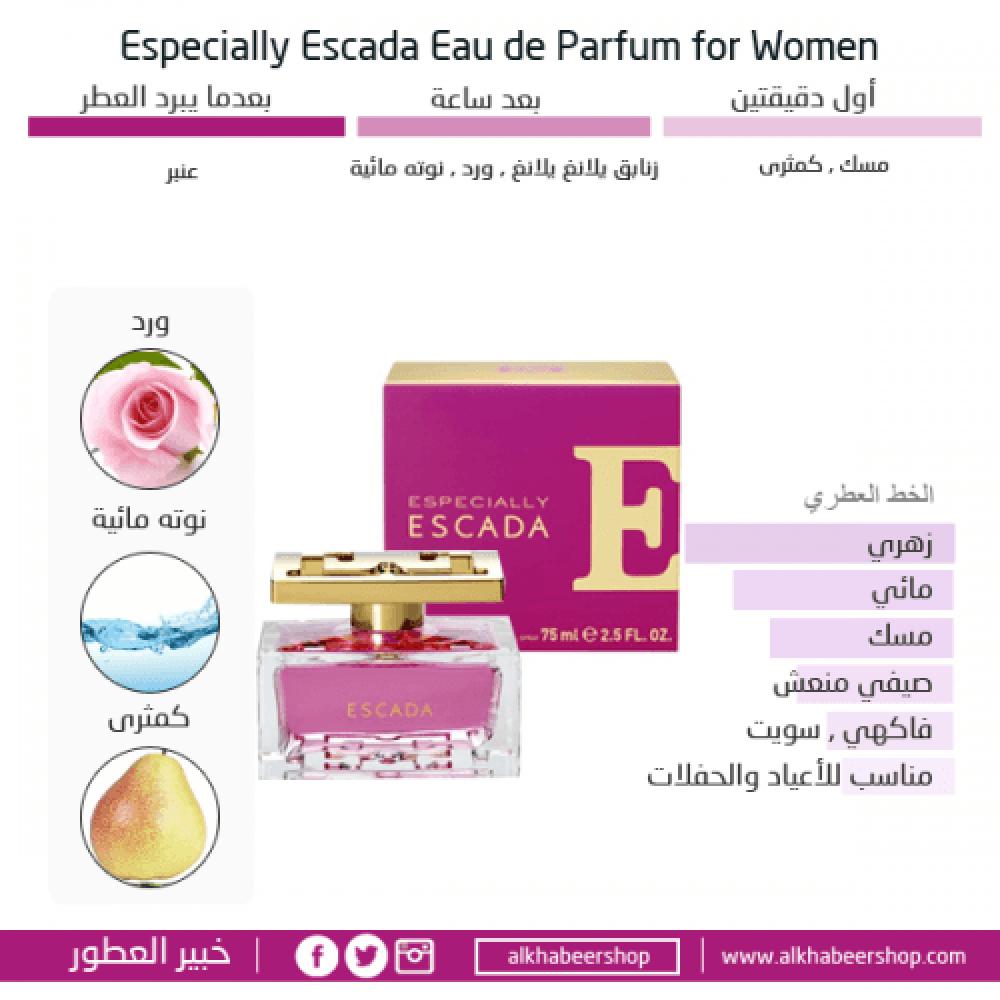 Escada Especially Eau de Parfum  متجر خبير العطور