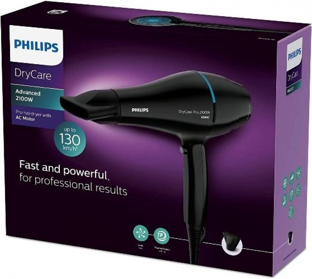 مجفف الشعر دراي كير برو من فيليبس - 2100 واط - Philips BHD272