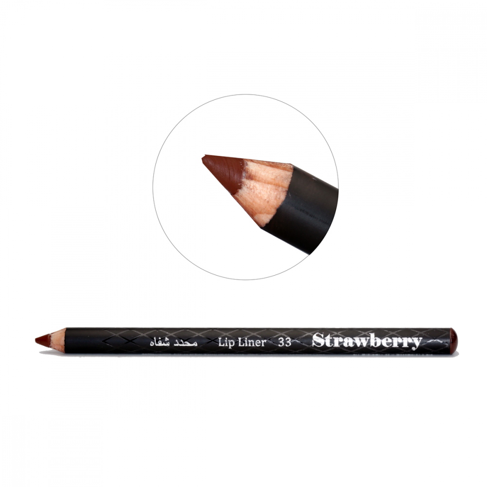 Strawberry  Lip Liner Pencil  No-33