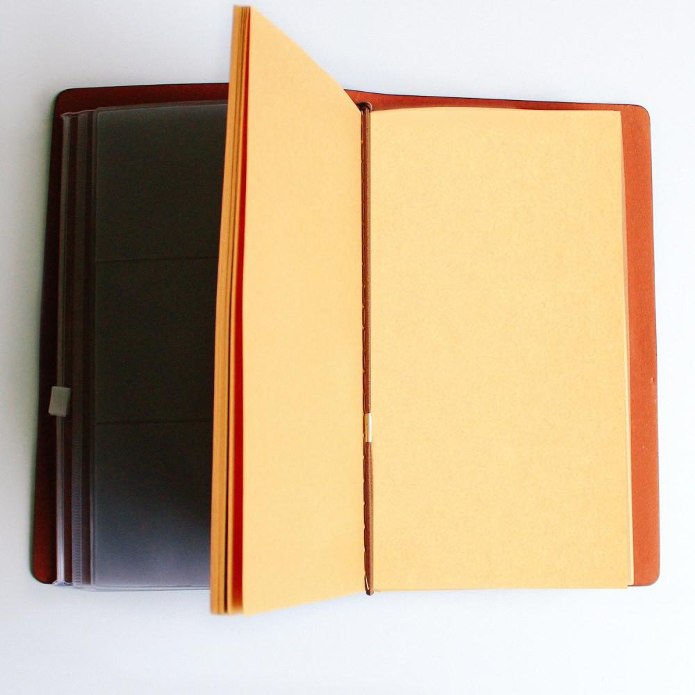 هدية دفتر جلد طبيعي هدايا رجالية للنساء وظيفة ترقية أجندة دفتر متجر