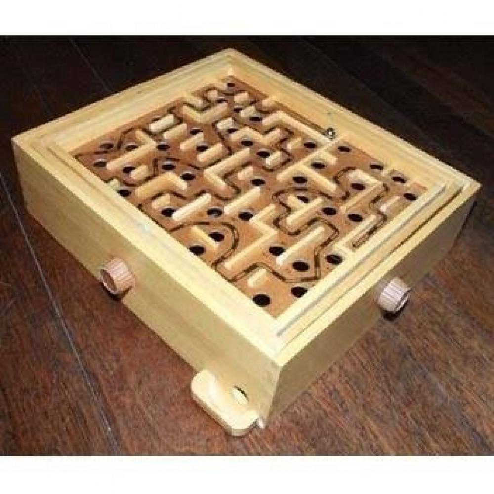 لعبة المتاهة الخشبية للاطفال لعبة المتاهة الخشبية وعداد للأطفال العاب