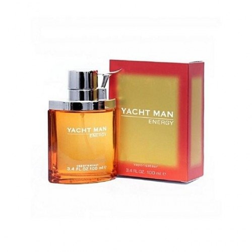Yacht Man Energy Eau de Parfum 100ml خبير العطور