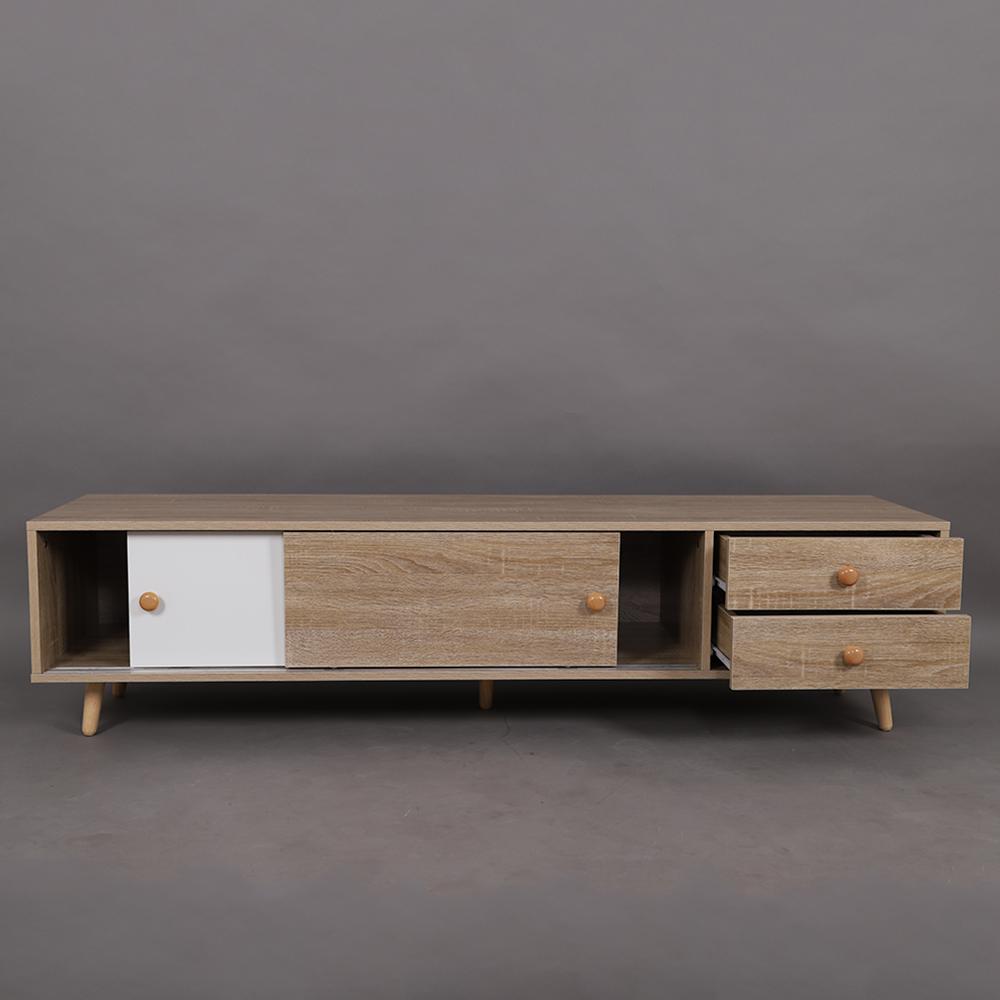 الوحدات التخزينية طاولة التلفاز الخشبية المميزة موديل سمات مواسم