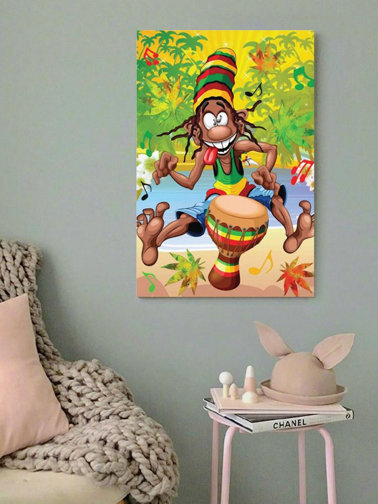 لوحة كول راستا خشب ام دي اف مقاس 40x60 سنتيمتر