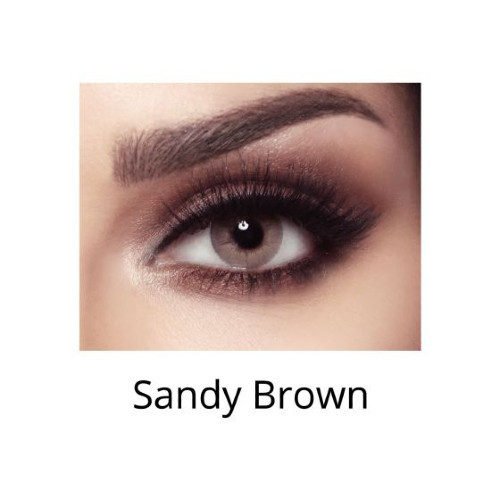 عدسات بيلاBella elite sandy brown