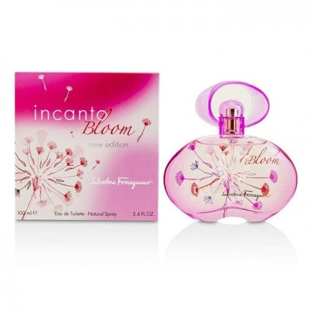 Salvatore Ferragamo Incanto Bloom Eau de Toilette 100ml متجر خبير العط