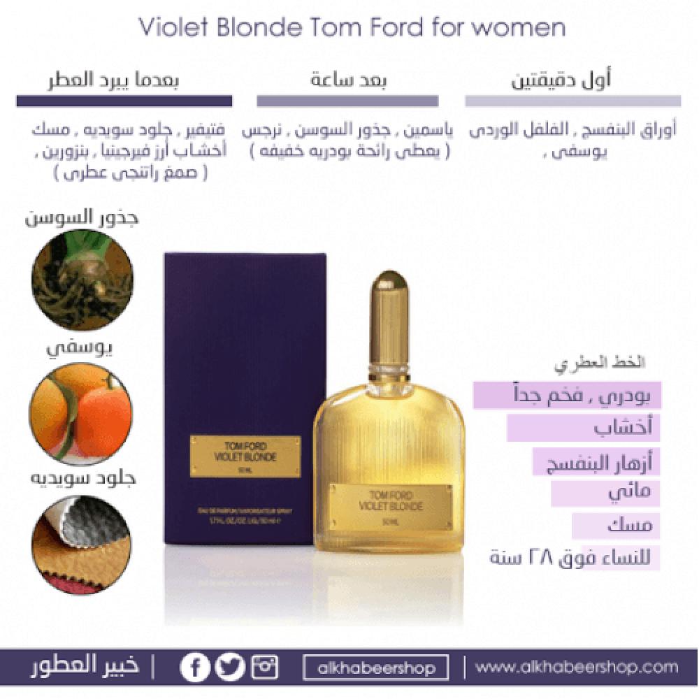 Tom Ford Violet Blonde Eau de Parfum 50ml خبير العطور