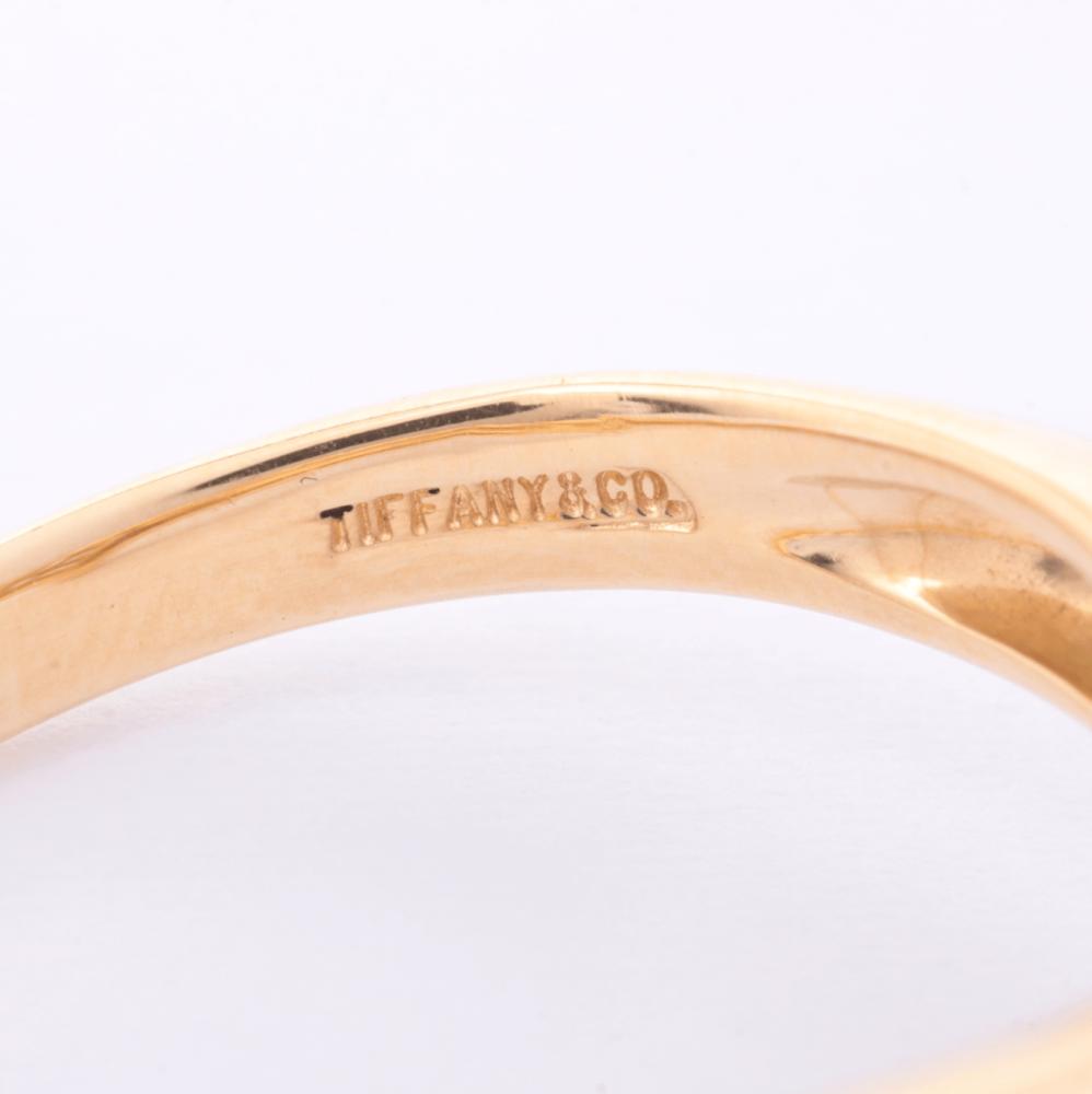 خاتم تيفاني هارت مع الماس الأصلي