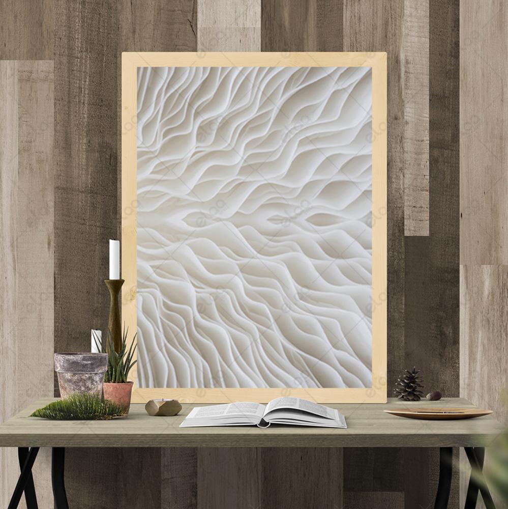 لوحة جدارية فن مجردة ماكرو نبات الفطر