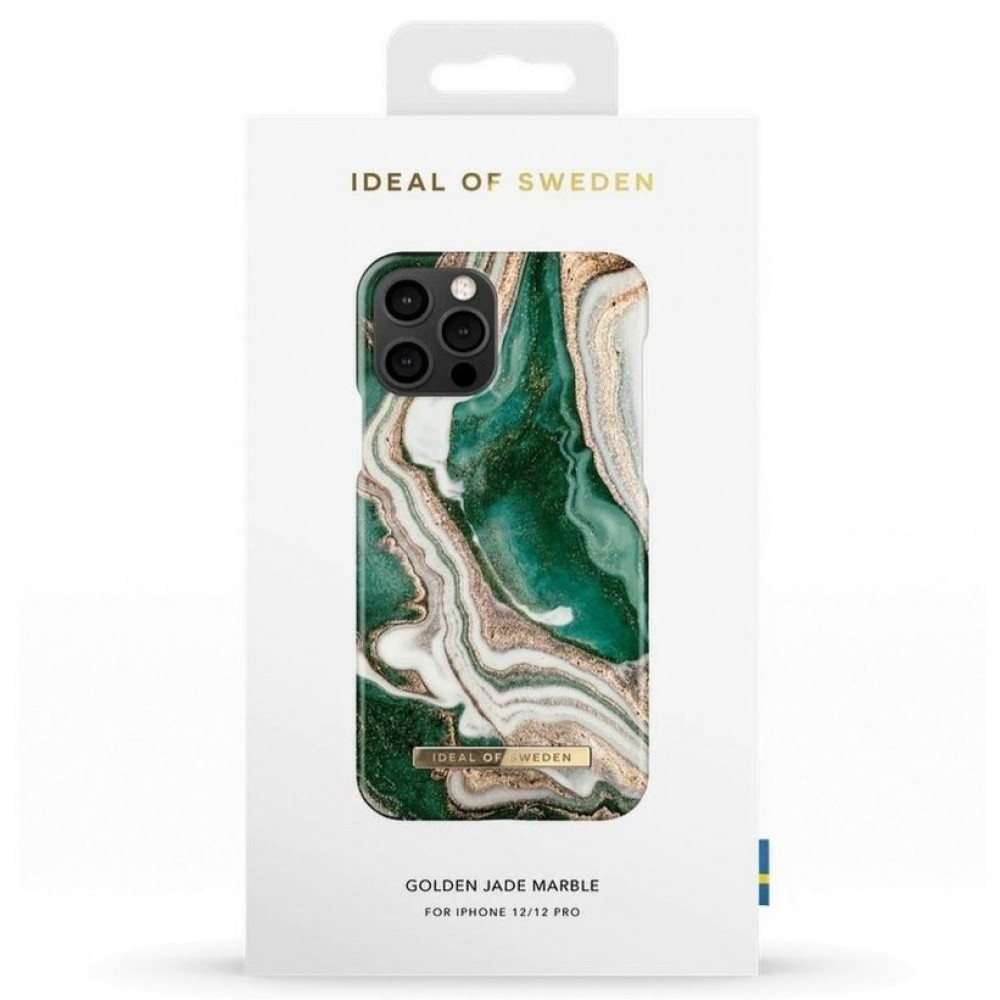 iDeal Fashion Case Golden Jade Marble