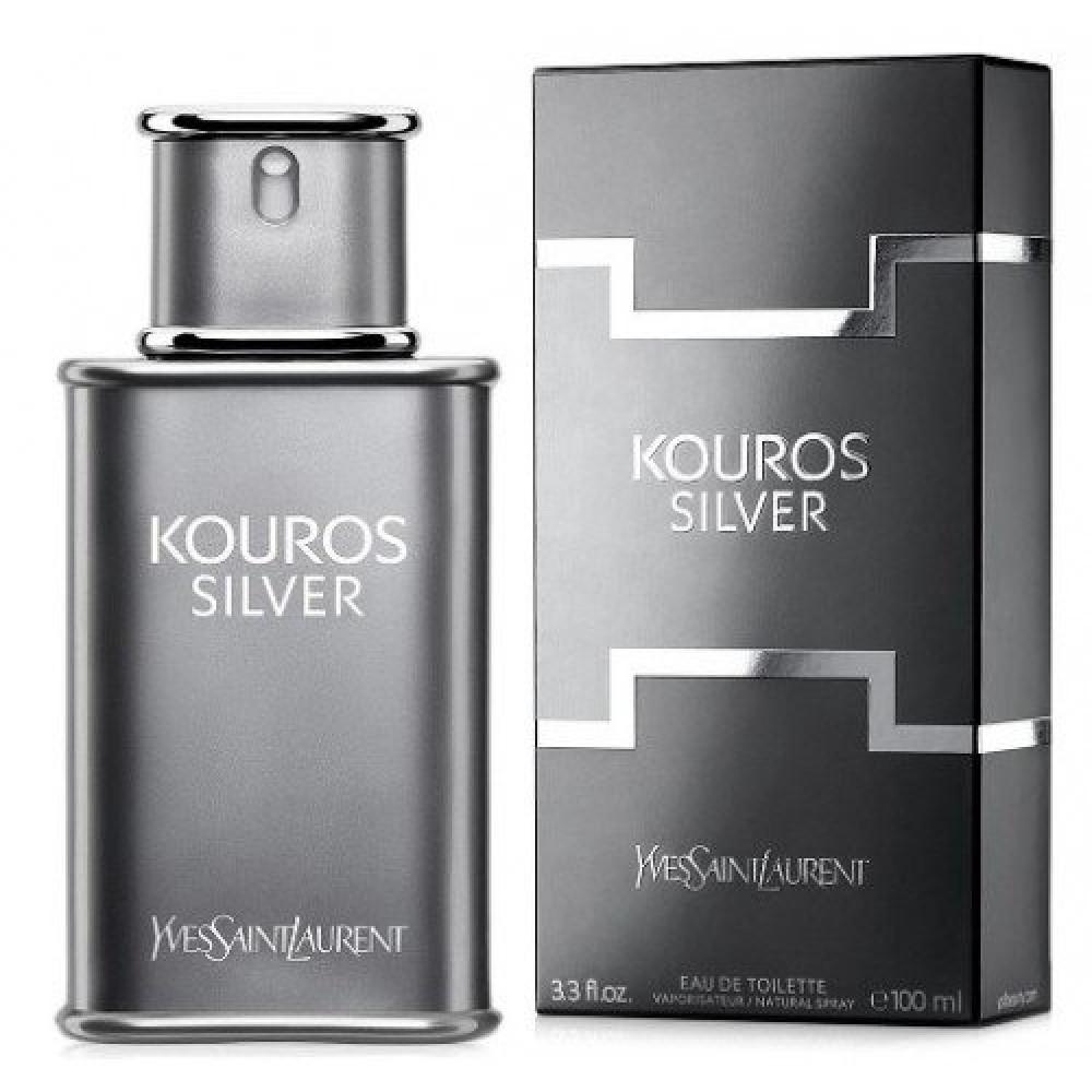 Yves Saint Laurent Kouros Silver Eau de Toilette 100ml خبير العطور