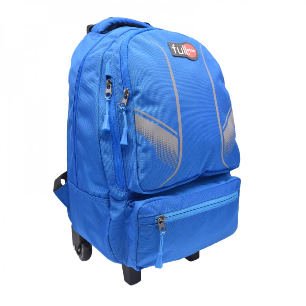 شنطة ترولي أبيض وأزرق فل ستوب, fullstop, Bag