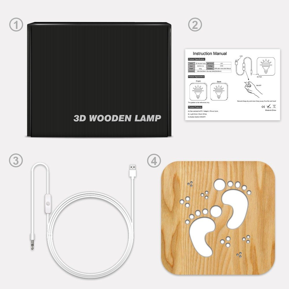 مواسم تحفة فنية مضيئة مصنوعة من الخشب طريقة التركيب و توصيل الإضاءة