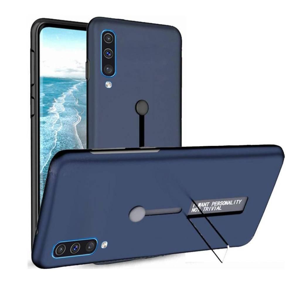 غطاء حماية مرن أزرق لهاتف سامسونج جالاكسي ايه 50 - samsung Galaxy A50