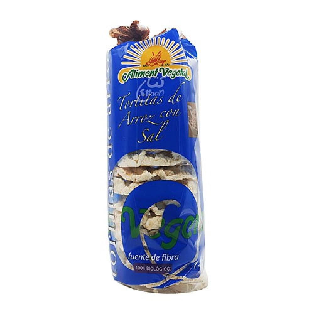 كعك الأرز غير مملح عضوي 140 جرام