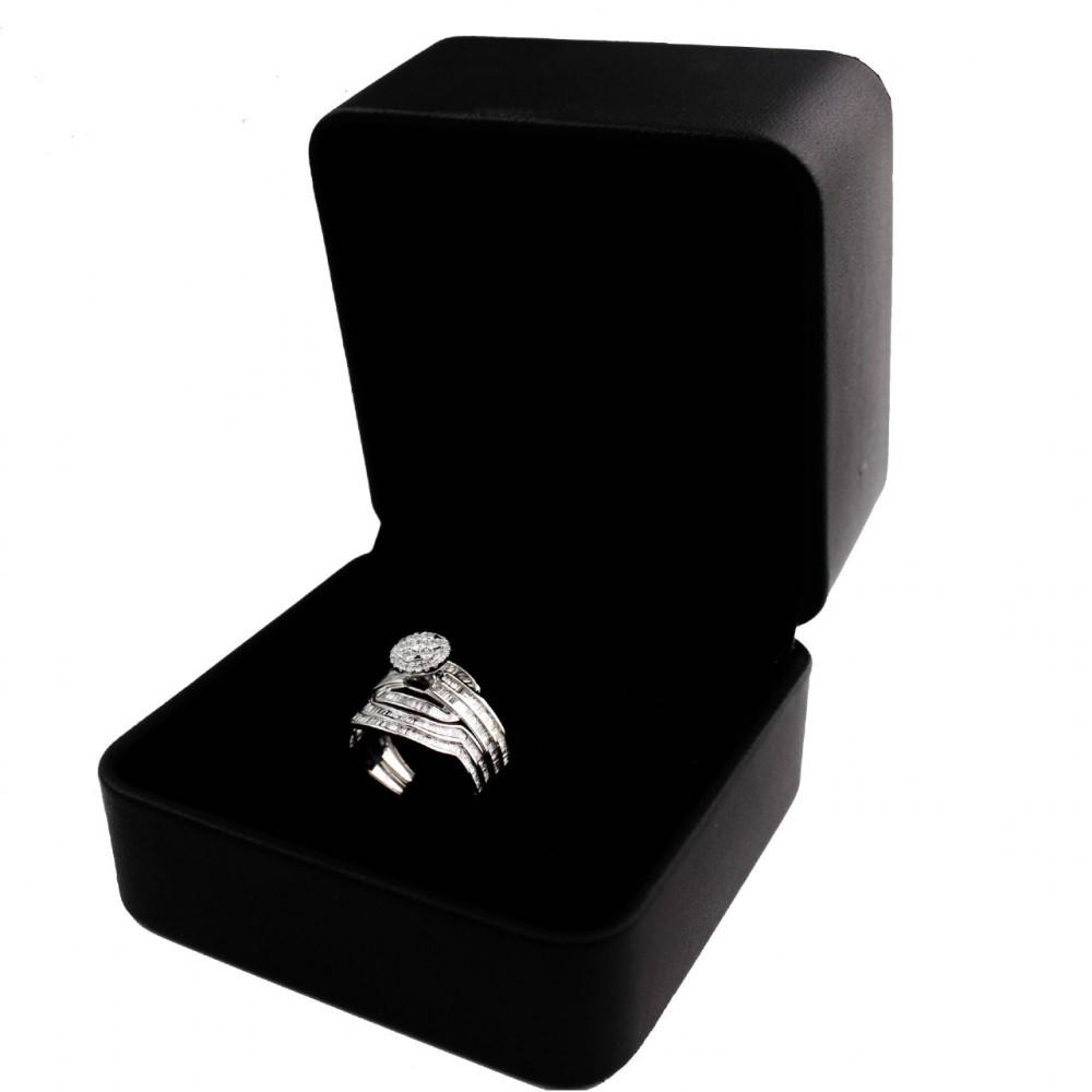 خاتم الماس توينز عيار 18