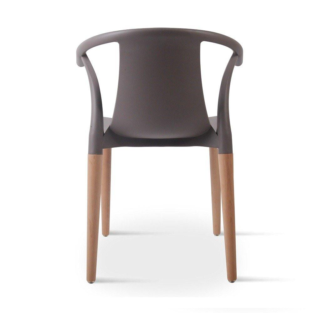 زاوية خلفية للكرسي لرؤية أفضل له طقم كراسي رمادي ماركة نيت هوم مواسم