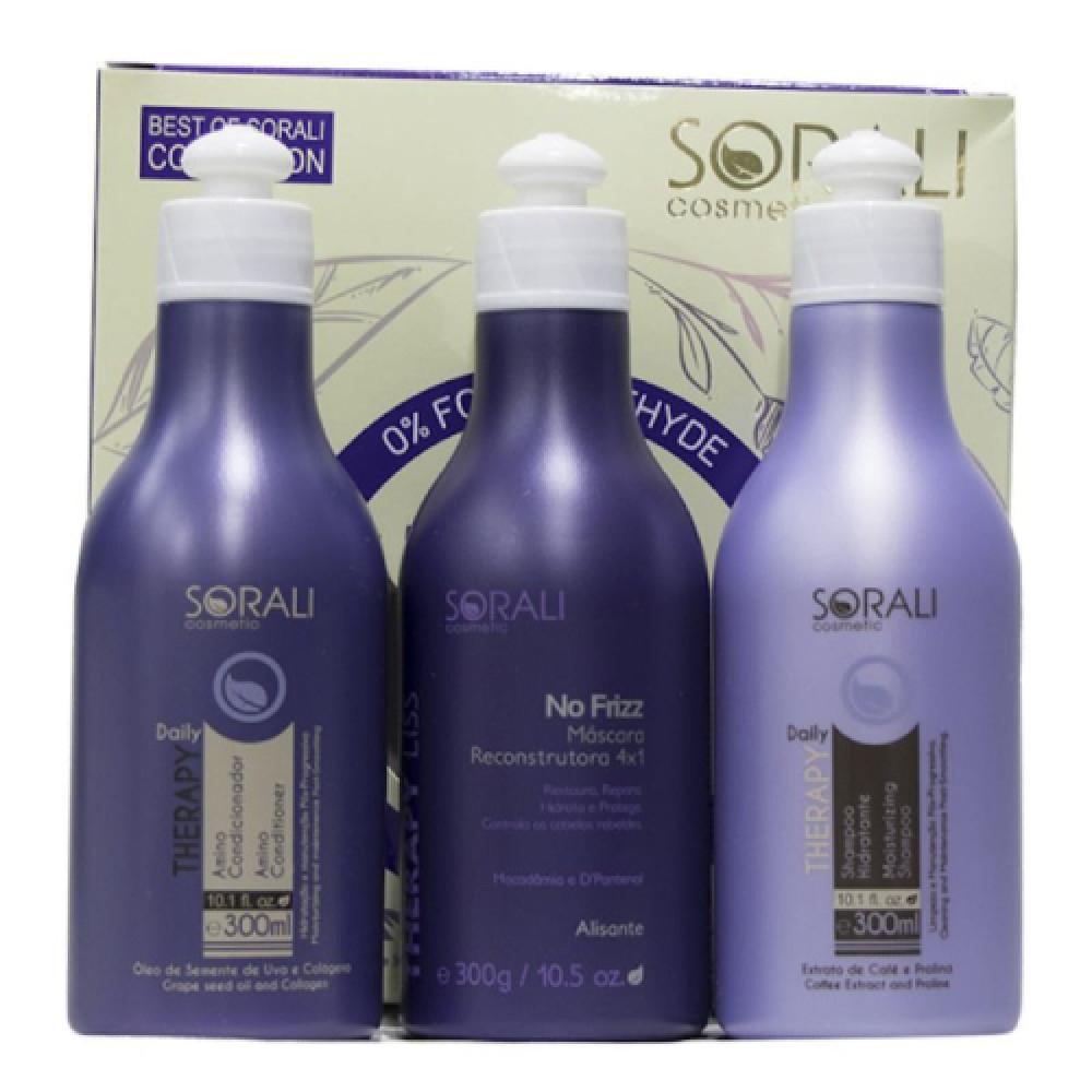 سورالي مجموعة العناية اليومية لعلاج وفرد الشعر ثيرابي ليس 300مل SORALI