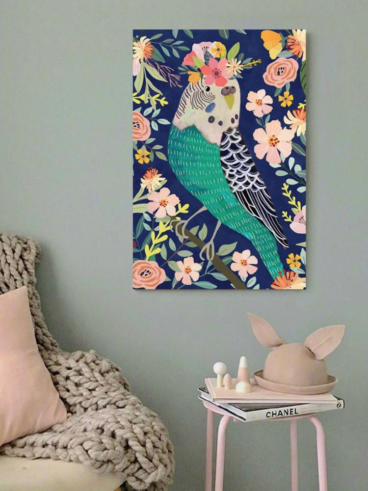 لوحة الزهور خشب ام دي اف مقاس 40x60 سنتيمتر