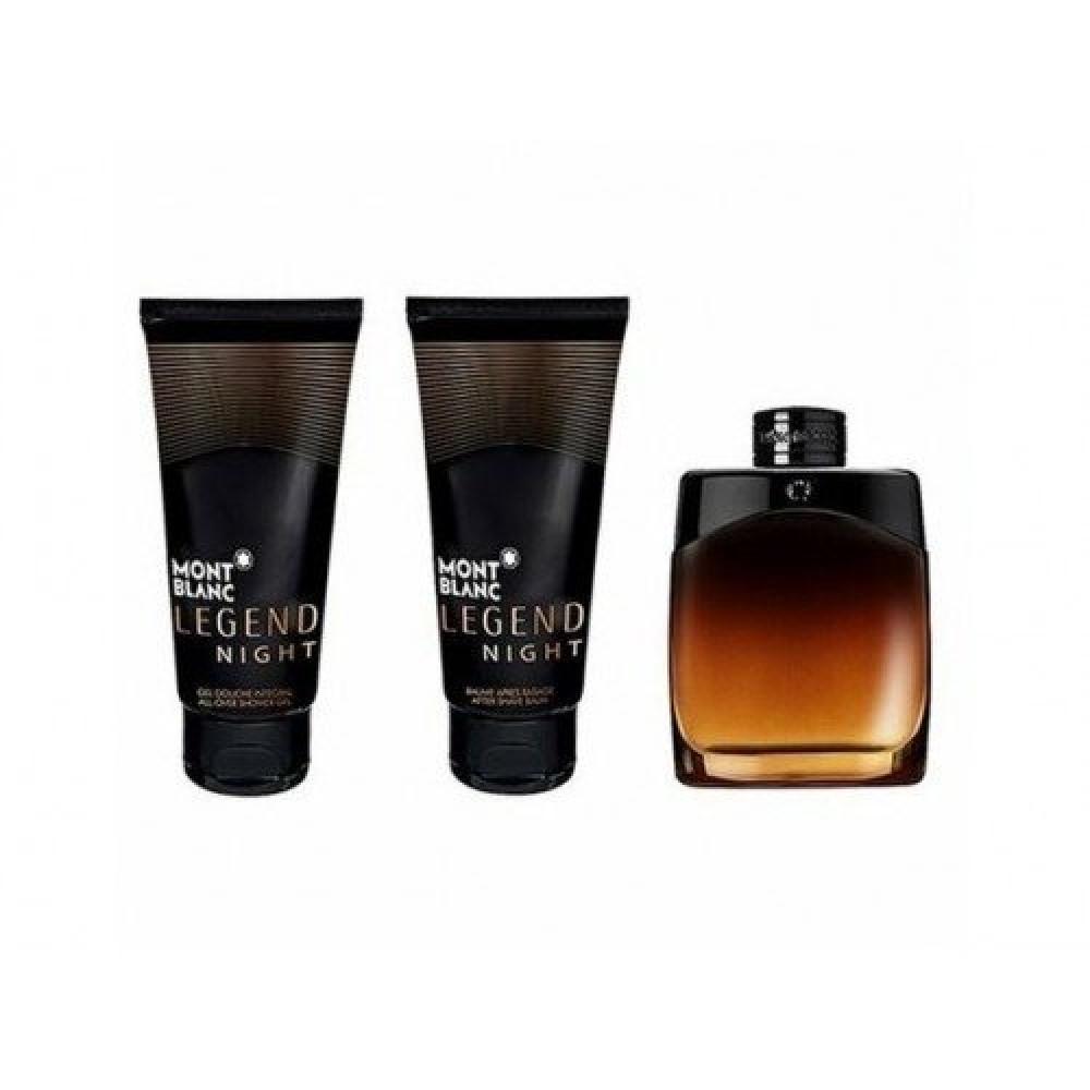 Mont Blanc Legend Night Eau de Parfum 100ml 3 Gift Set خبير العطور