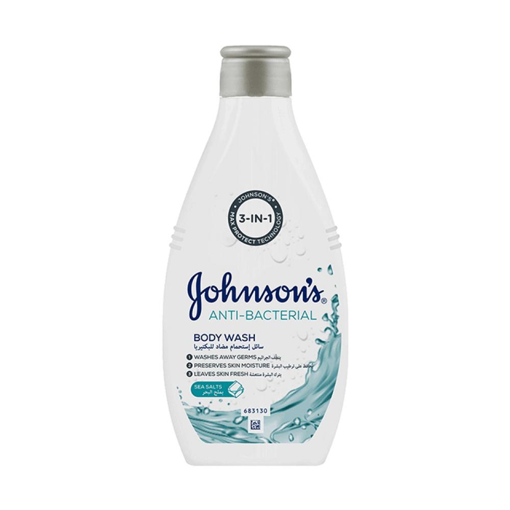 سائل استحمام مضاد للبكتيريا من جونسون - 250مل