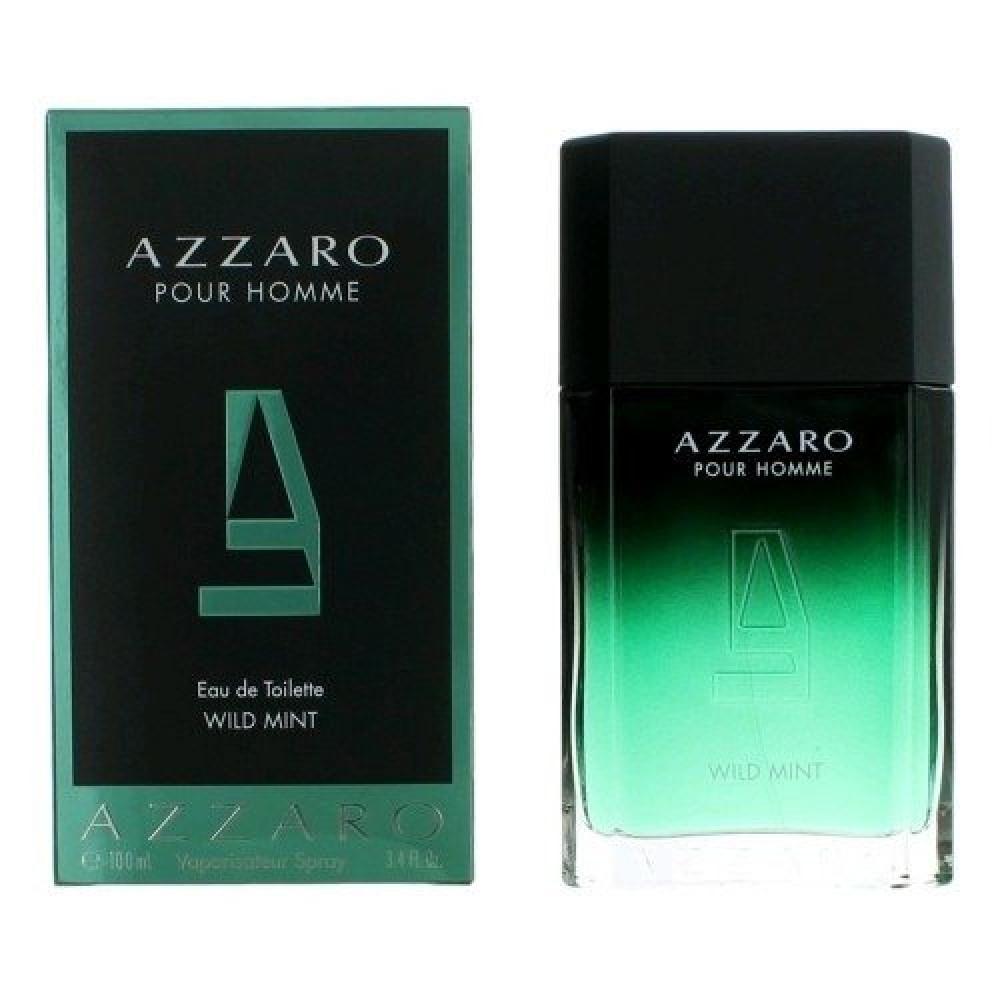 Azzaro Pour Homme Wild Mint Eau de Toilette  متجر خبير العطور