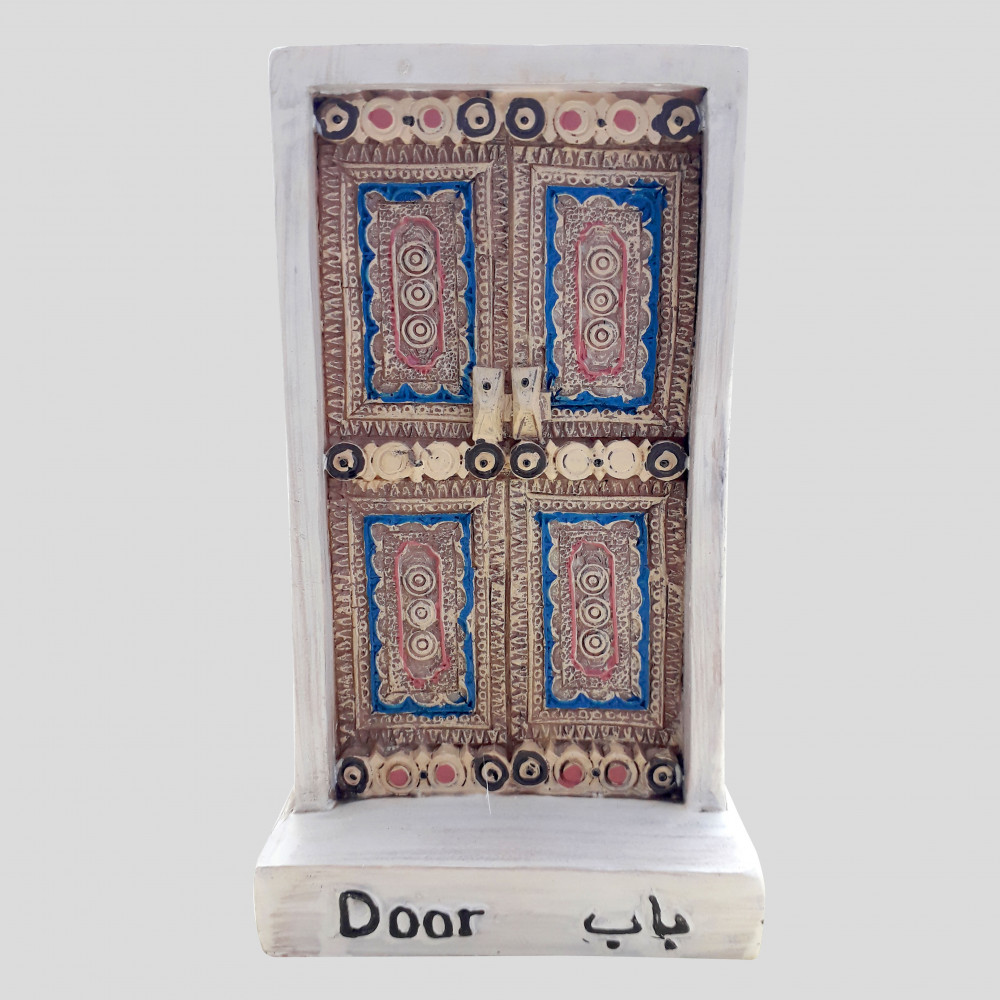 تذكار باب نجدي تقليدي مزخرف