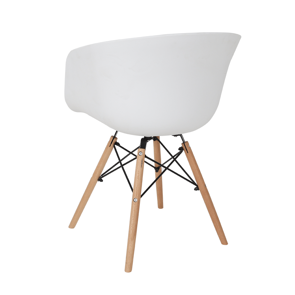أجمل الكراسي تجدها من طقم كراسي 4 قطع لون أبيض في تجارة بلا حدود