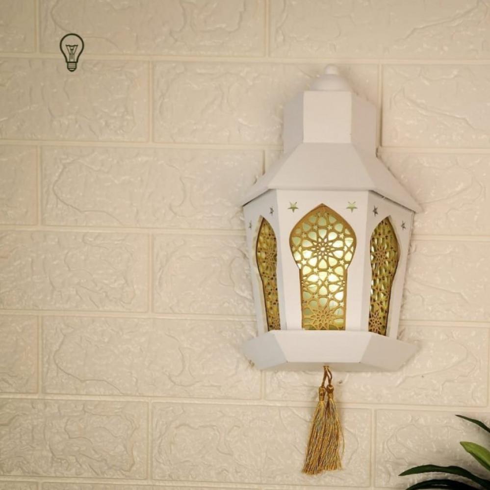 فانوس رمضان اضاءة جدارية