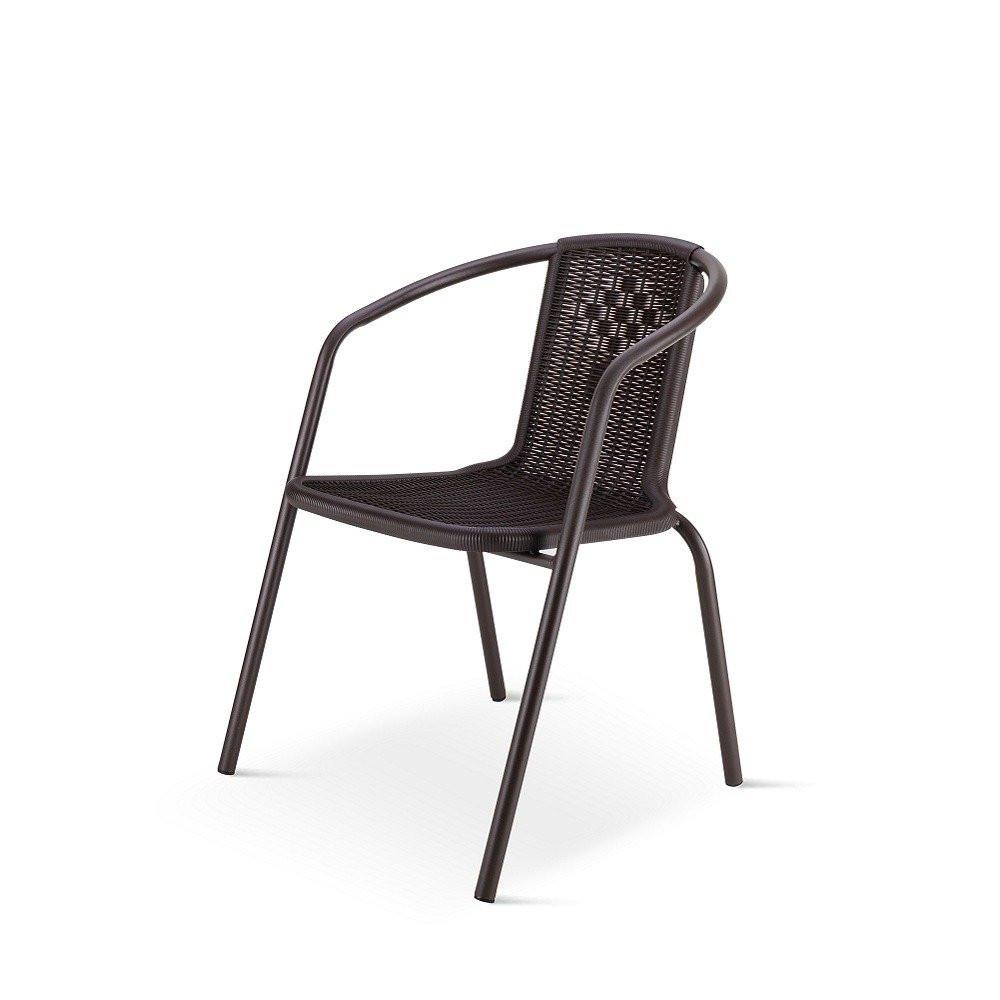 أجمل الكراسي تجدها في طقم كراسي بلون البني المحروق من ديل يوتريد