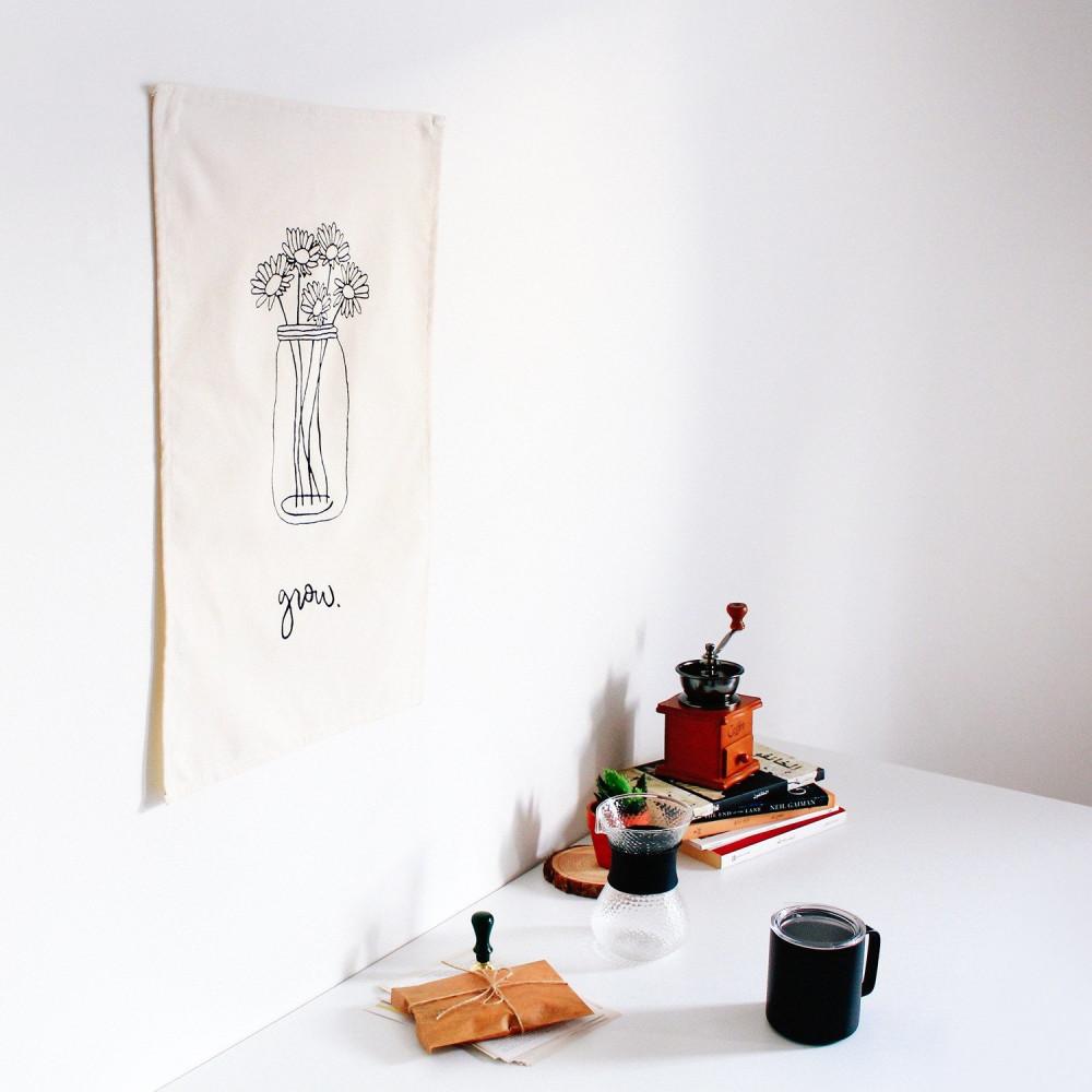 ديكورات منزلية بطابع بوهيمي ديكور جدار المكتب لوحة للمدخل للصالة متجر