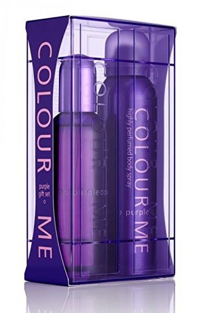 طقم كلر مي بيريل نسائي colour me purple gift set women