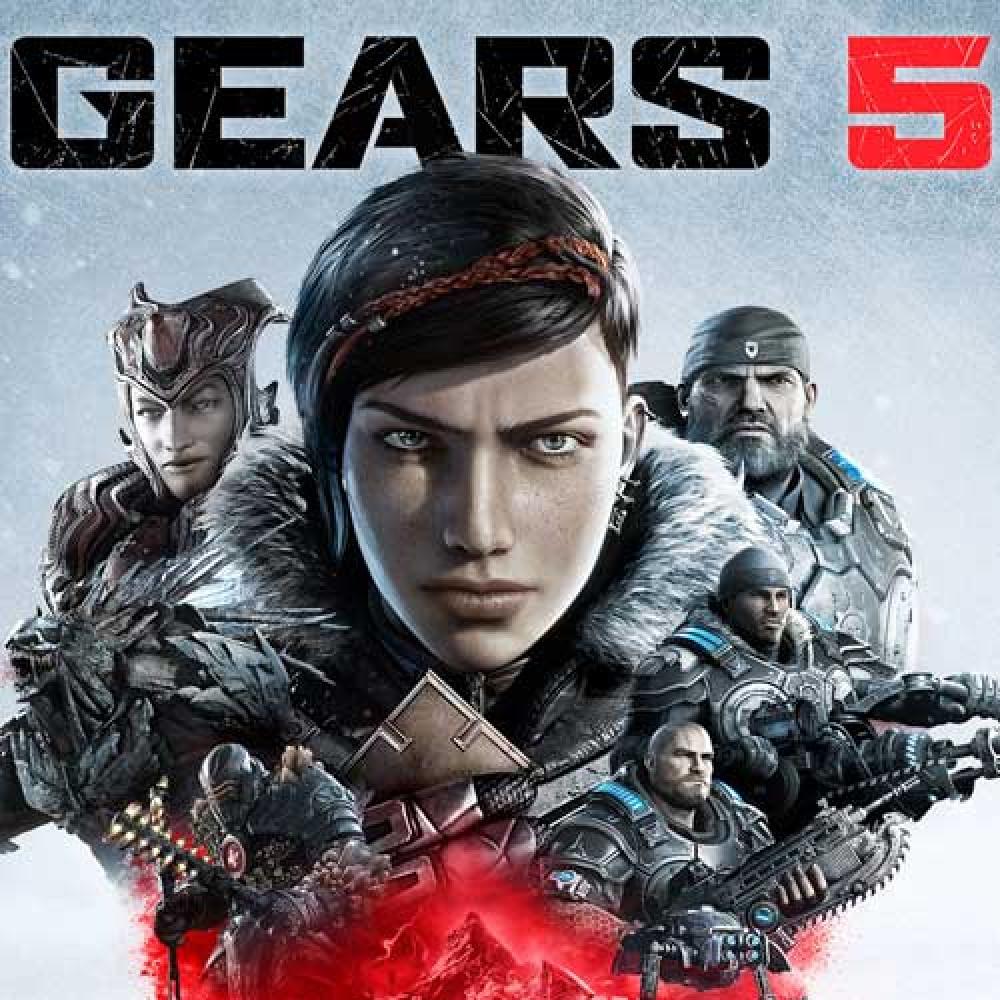 لعبة Gears 5 على الكمبيوتر كود مفتاح pc متجر ميكروسوفت ستور