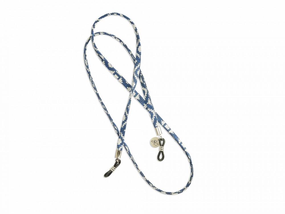 حبل تعليق ازرق
