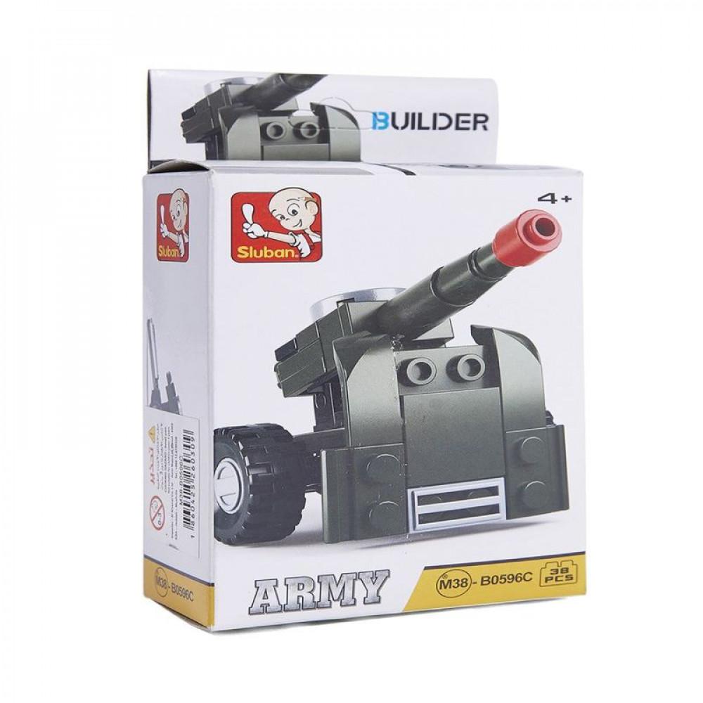 Sluban, Toys, سلوبان, قطع تركيب قاعدة إطلاق صواريخ, ألعاب