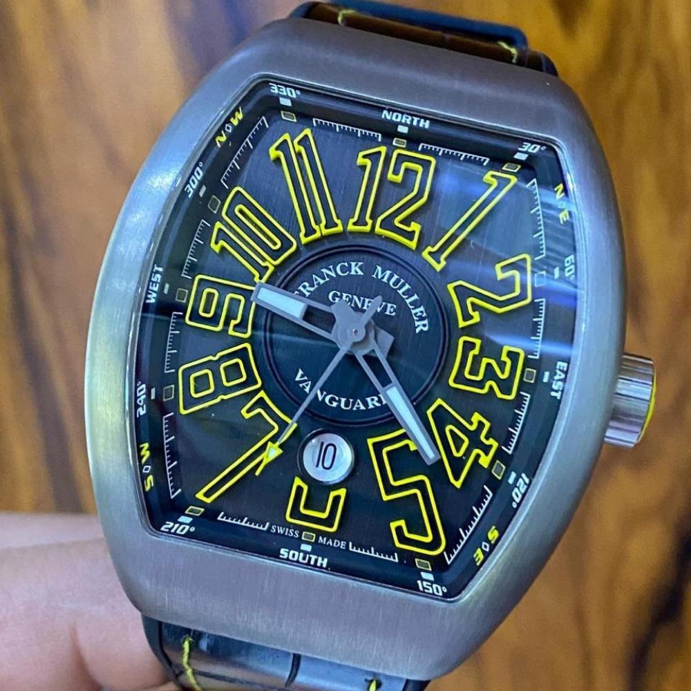 ساعة فرانك مولر الأصلية جديدة كليا